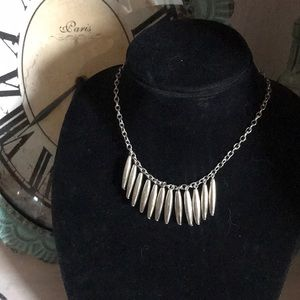 Nicole Miller Silver Tone Necklace NEW
